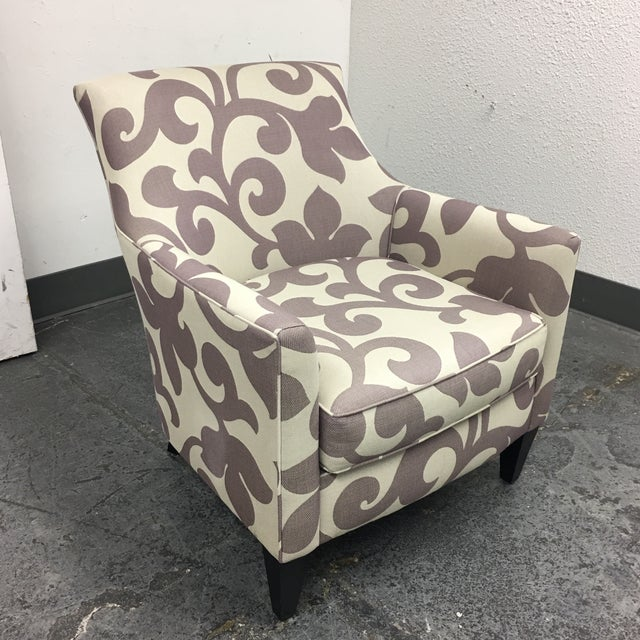 Custom Clara Accent Chair from Crate & Barrel - Image 3 of 7