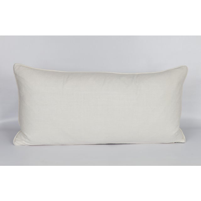 Black and White Cheetah Lumbar Pillow For Sale - Image 4 of 6