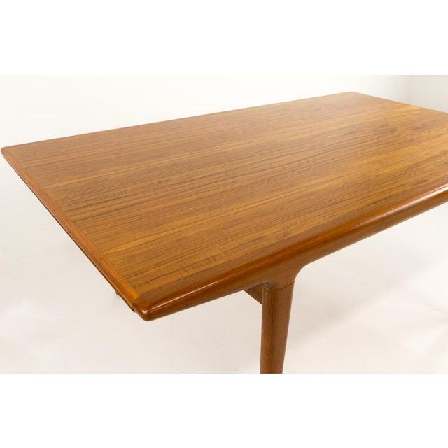 Mid Century Modern Niels Moller Teak Hidden Leaf Dining Table Chairish