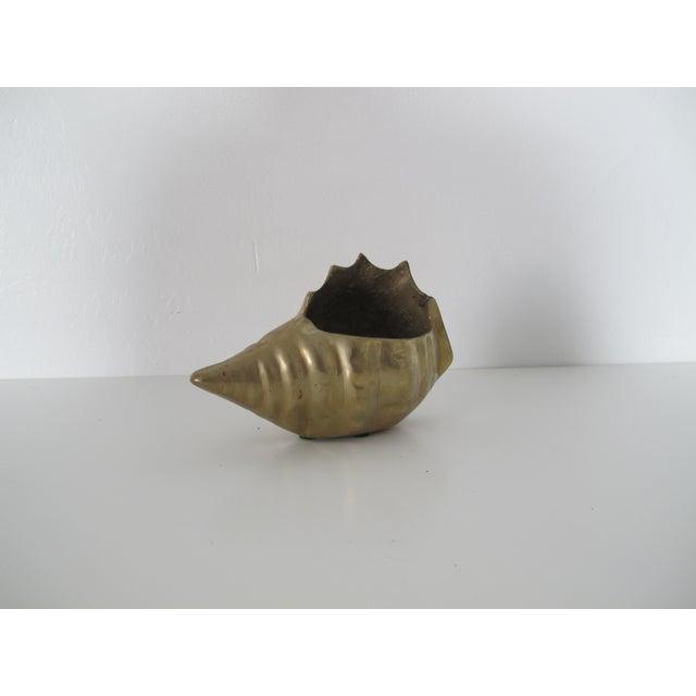 Brass Shell Vessel - Image 2 of 5