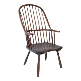Primitive Windsor Chair For Sale