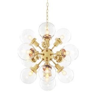Gold Orbit Chandelier | Eichholtz Ludlow For Sale
