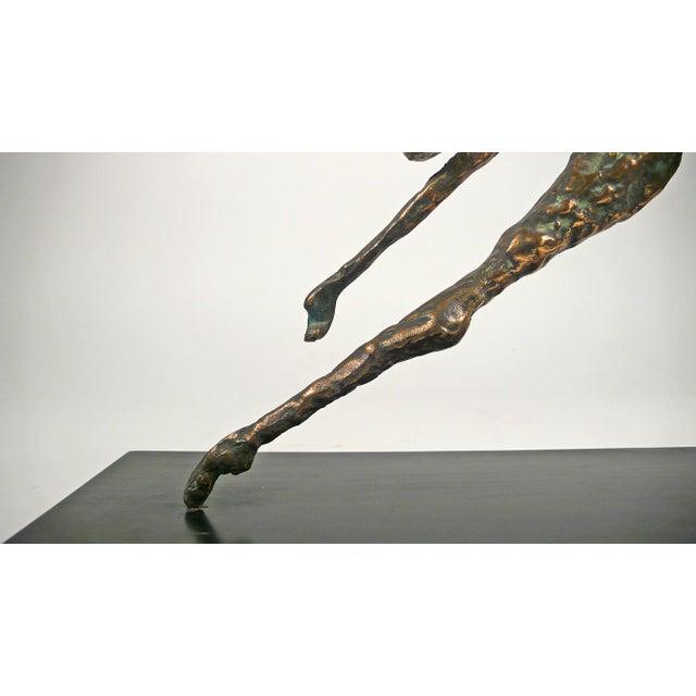 Metal Jere Bronze Figural Sculpture For Sale - Image 7 of 8
