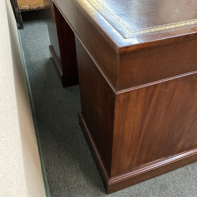Early 20th Century English Colonial Three Piece Desk For Sale In San Francisco - Image 6 of 13