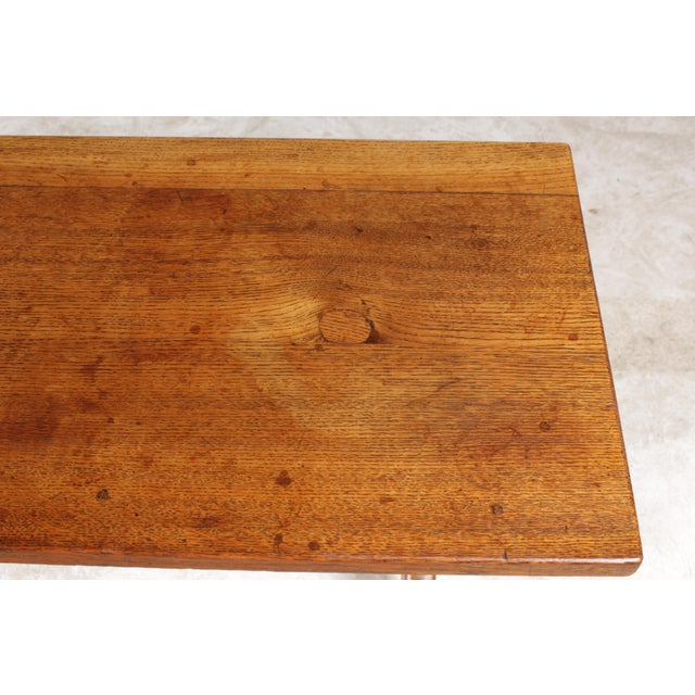 X-Leg Belgian Coffee Table For Sale - Image 5 of 6