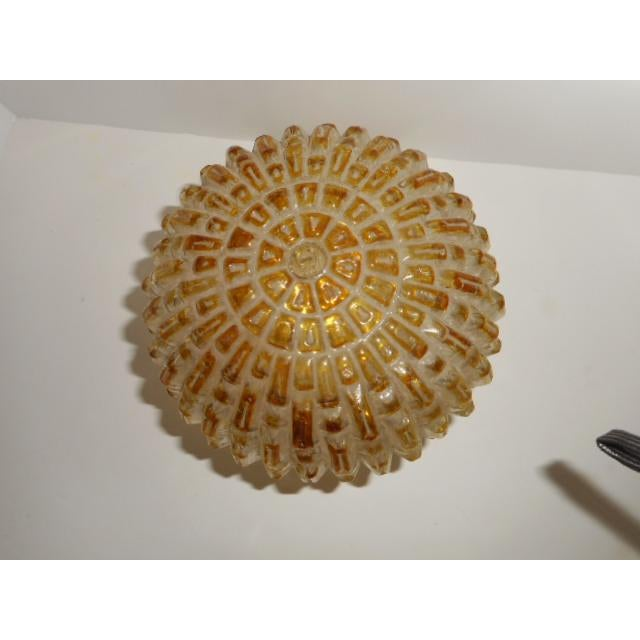 Mid Century Honeycomb Ceiling Light Shade Lamp - Image 2 of 7