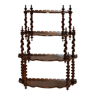 19th Century French Hanging Shelf For Sale