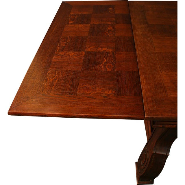 Vintage French Renaissance-Style Dining Table For Sale - Image 12 of 12