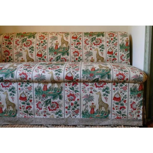 Custom Designer Sofa Banquettes - a Pair - Image 3 of 6