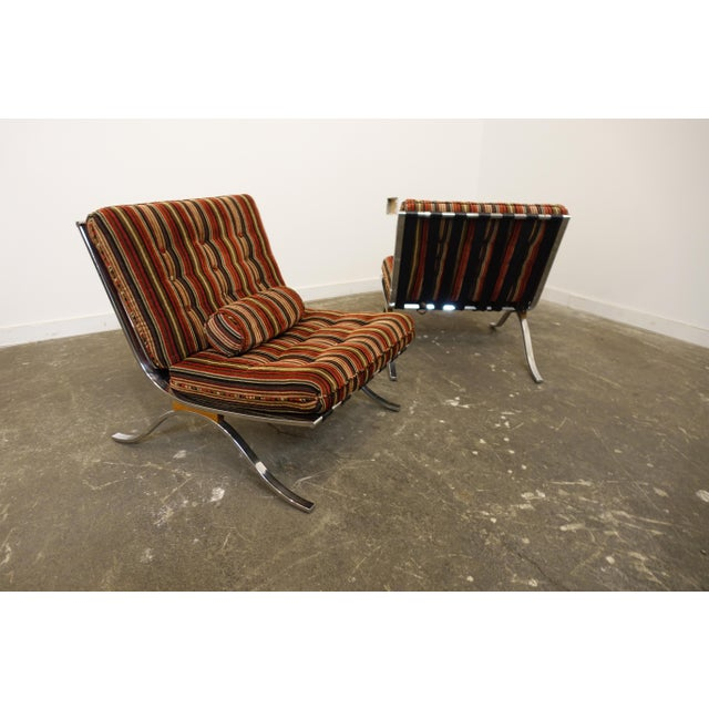 Selig Mid Century Modern Selig Chairs- a Pair For Sale - Image 4 of 7