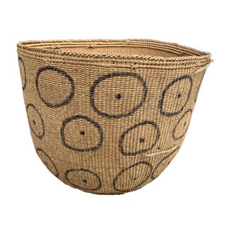20th Century Tribal Yanomami Gathering Basket For Sale