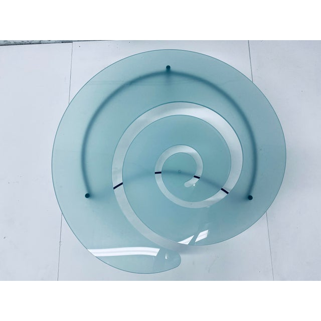 """Giorgio Cattelan """"Spiral"""" Coffee Table for Cattelan Italia For Sale - Image 9 of 13"""