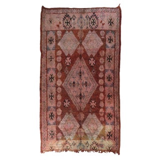 Vintage Moroccan Boujad Rug For Sale