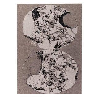 "Celestial Globe Cashmere Blanket, 51"" x 71"" For Sale"