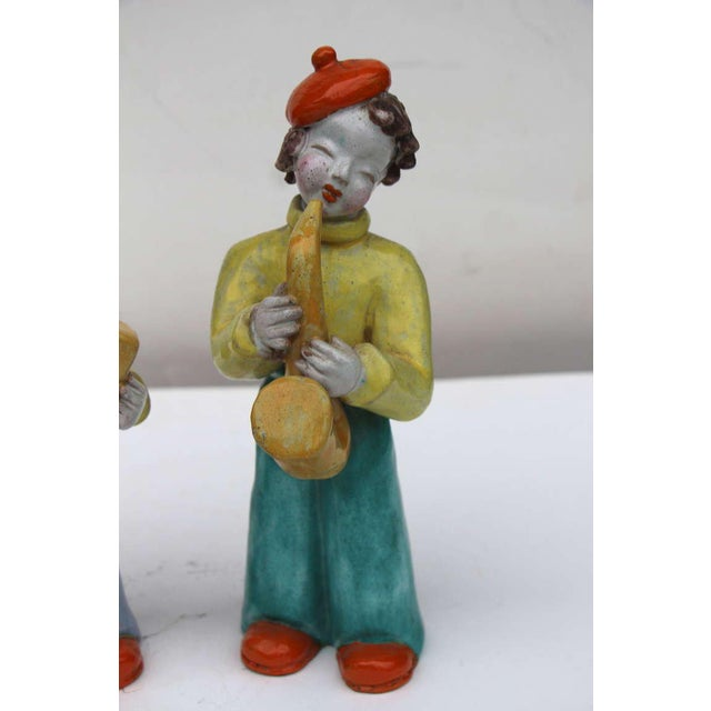 Figures by Hungarian Maria Rahmer- A Pair For Sale - Image 4 of 9