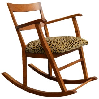 Swedish Art Moderne Rocking Chair For Sale