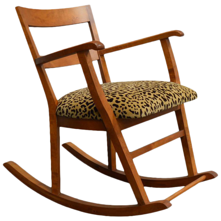 Superieur Swedish Art Moderne Rocking Chair For Sale