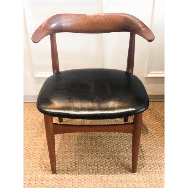 Mid 20th Century Mid-Century Danish Modern Side Chair For Sale - Image 5 of 5