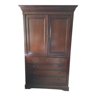 Grange Louis-Philippe Orleans French Cherry Wooden Dresser/Media Cabinet