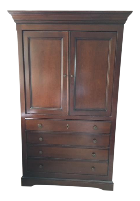 Grange Louis Philippe Orleans French Cherry Wooden Dresser/Media Cabinet