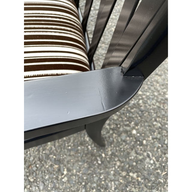 Paul Frankl for Johnson Furniture Zig Zag Armchair 1950s For Sale - Image 9 of 13