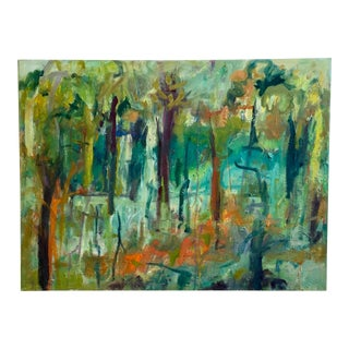 """Wander and Wonder"" By, Ellen Reinkraut Original Abstract Expressionist Painting For Sale"