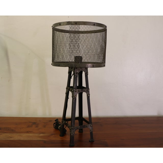 Industrial Table Lamps - Pair - Image 3 of 6