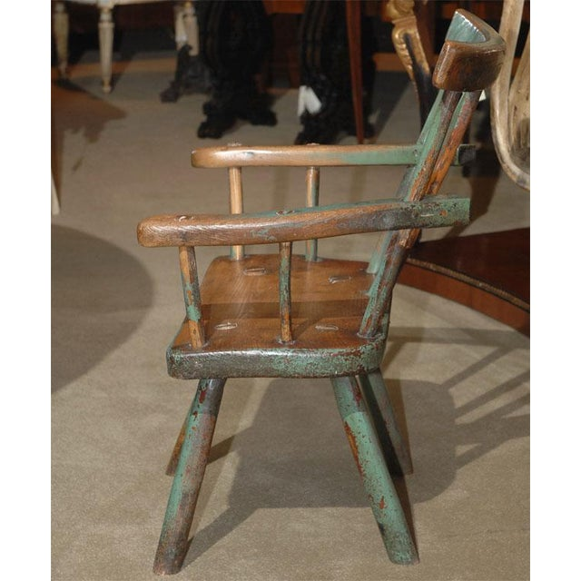 Excellent Early 19th Century Irish Fools Chair Decaso