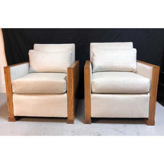 Stunning Ralph Lauren Club Chairs by Henredon—a Pair For Sale - Image 13 of 13