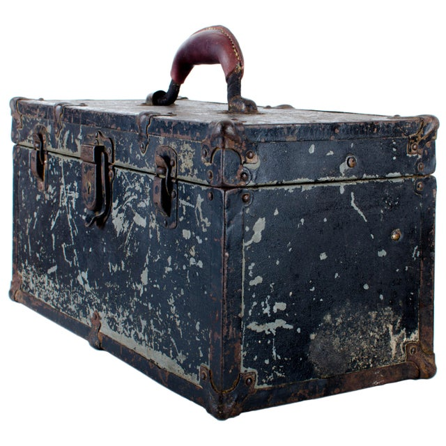 Vintage Union Tool Box For Sale - Image 10 of 10