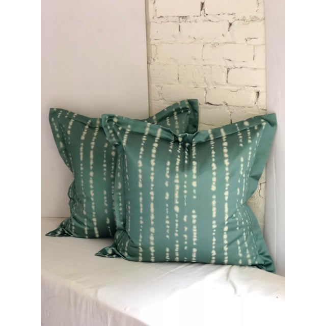 """Pair of 24"""" Jim Thompson Pillows For Sale - Image 4 of 11"""