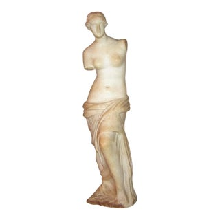 19c Italian Marble Figurine of Venus De Milo For Sale