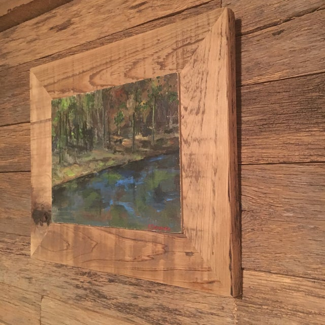 2010s Upstate NY Landscape Painting For Sale - Image 5 of 8