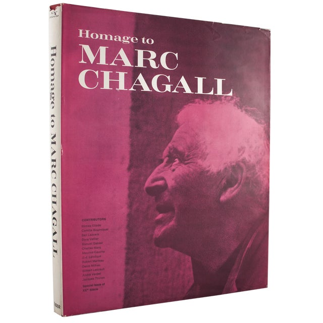 Marc Chagall, Book, 1969 For Sale