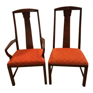 Baker Furniture Mahogany Dining Chairs - A Pair