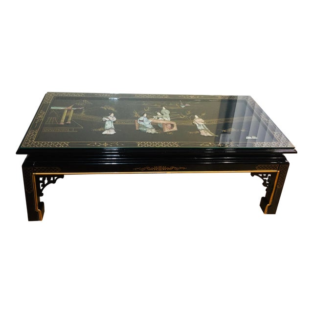 1960s Chinese Coffee Table For Sale