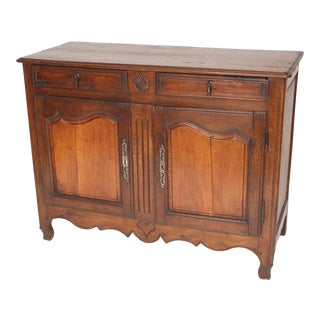 Antique Louis XV Style Provincial Buffet For Sale