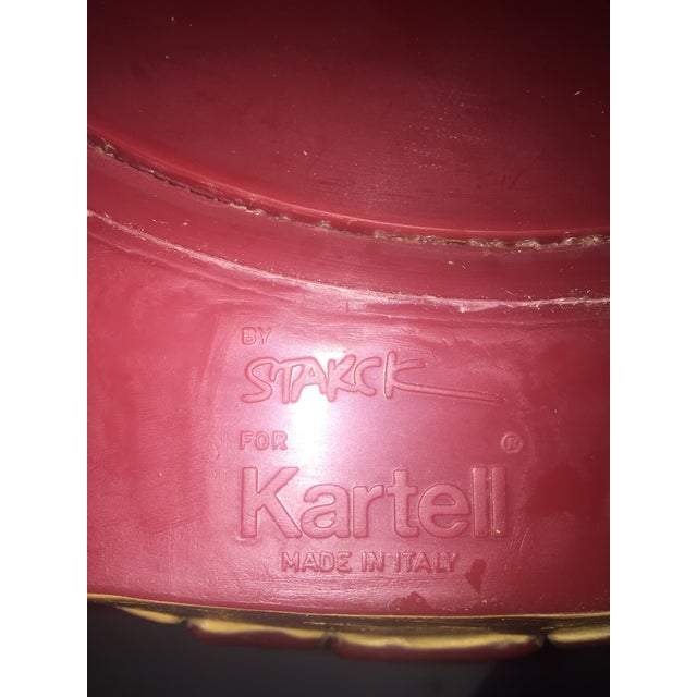 Modern Kartell Saint Esprit 8820 Stool by Philippe Starck For Sale In Boston - Image 6 of 7