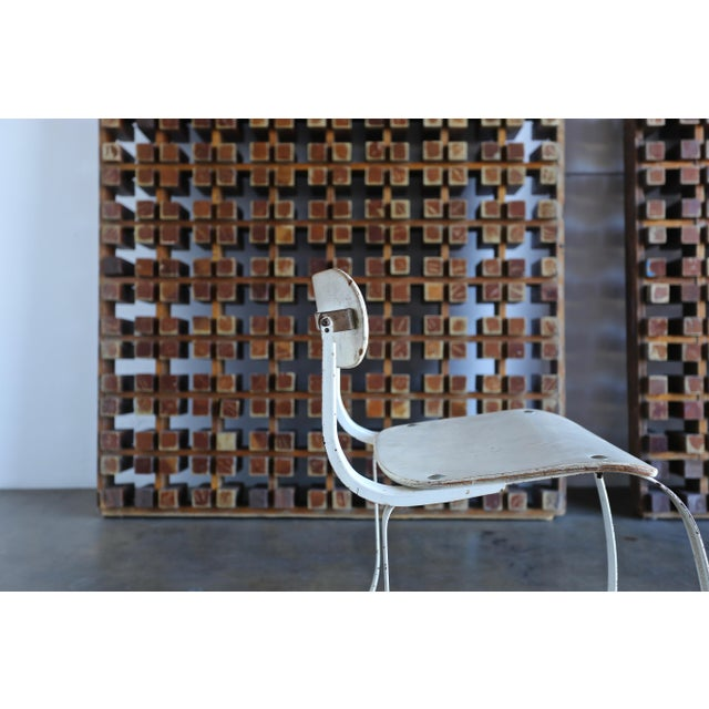 """Metal 1940s Herman H. Sperlich for Ironrite """"Health"""" Chair For Sale - Image 7 of 13"""