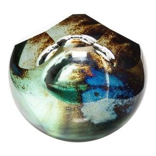 David Schwarz Signed Studio Art Glass Sculpture From 1993 For Sale