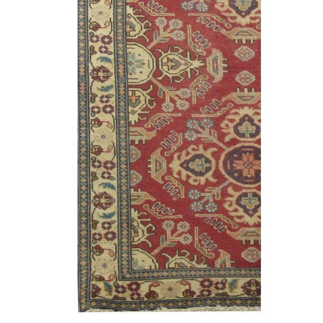 "Islamic Vintage Persian Tabriz Runner Rug - 3'2"" x 13' For Sale - Image 3 of 3"