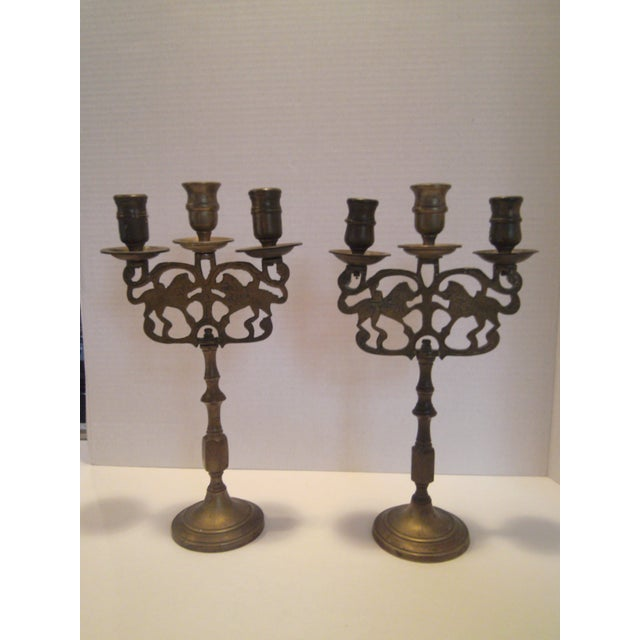Antique Chinese Candelabrum - A Pair - Image 8 of 8