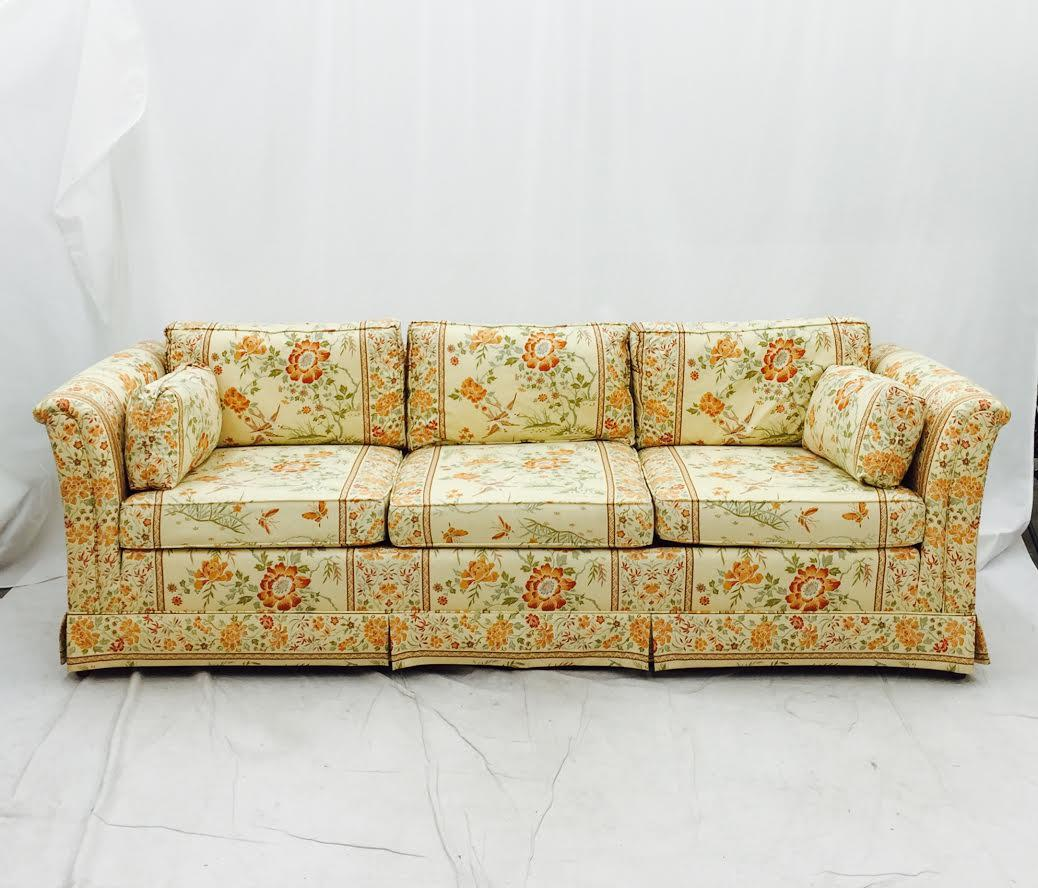 Incroyable This Vintage Mid Century Modern Sofa Has Just The Right Amount Of Pattern  To Spice