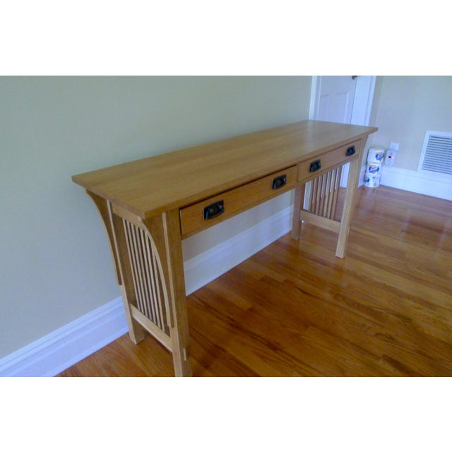 Mission Stickley Mission Sofa Table For Sale - Image 3 of 4