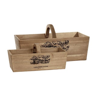 Cellar Harvest Baskets - A Pair For Sale