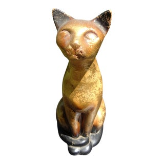 1950s Mid Century Modern Siamese Cat 12 Inches For Sale