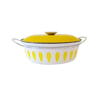 Cathrineholm Yellow Lotus Dutch Oven Casserole
