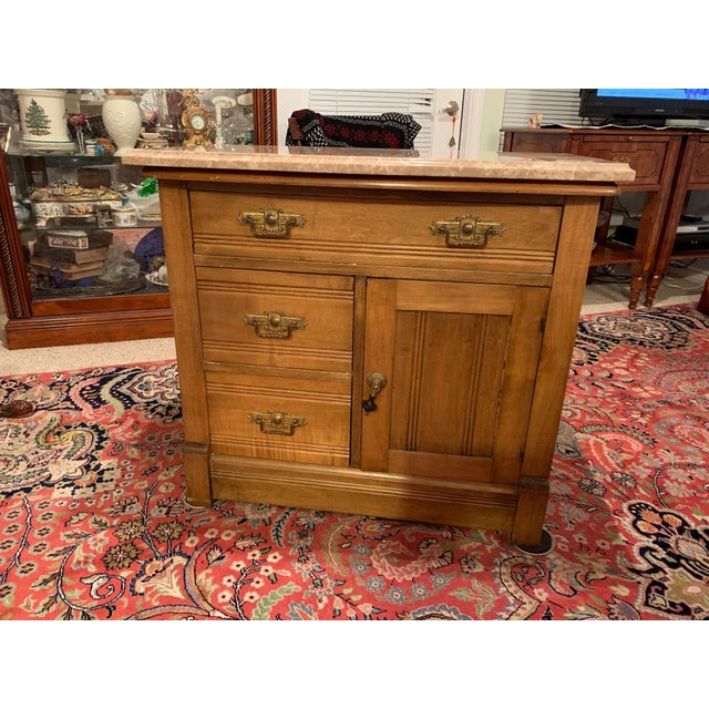 The Very Finest Antique of Miniature Commode by Williamsport Furniture Company Pa. A 19th century Williamsport miniature...