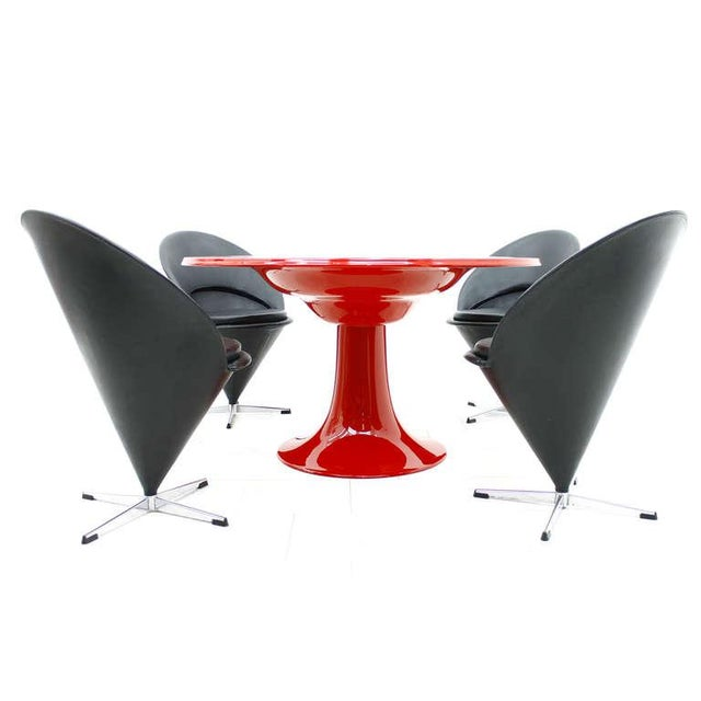 Otto Zapf Rare Column Dining Table by Otto Zapf for in Design Germany, 1967 For Sale - Image 4 of 7