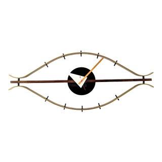 Mid Century Modern George Nelson Eye Clock For Sale